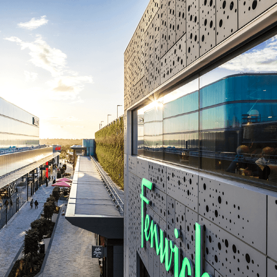 Bracknell lexicon utilising Bailey rainscreen cladding panels