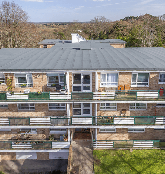 Flat Roofing installed at the Bluff, Bournemouth