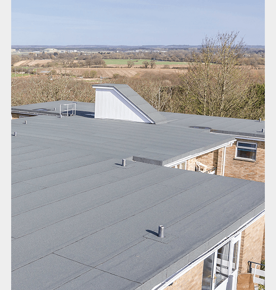 Bitumen Felt Roofing Installed at the Bluff in Bournemouth