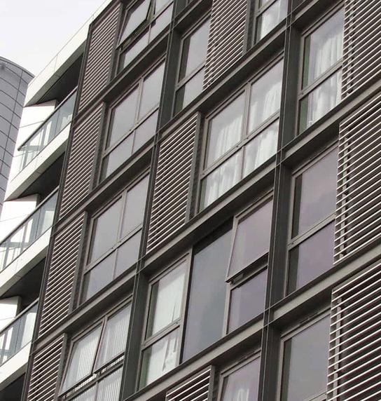 I-Line beams at Greenwich Reach Development