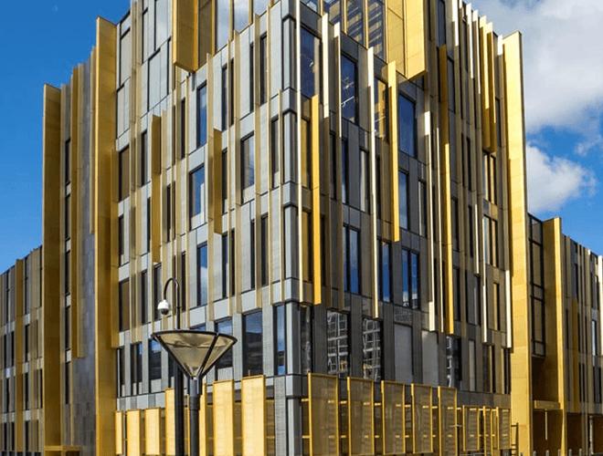 Unique architecture design at University of Birmingham Library