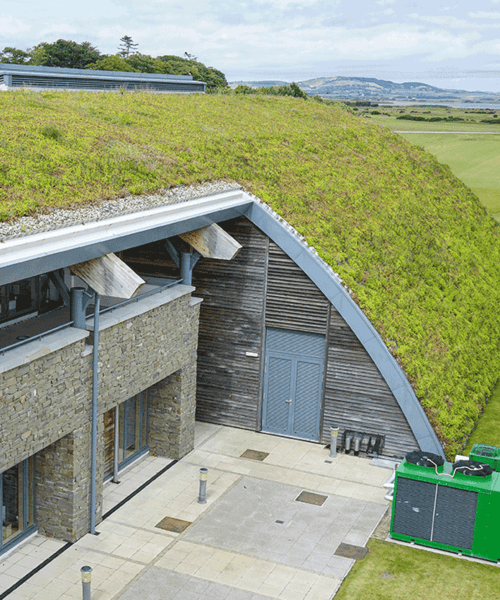 Green roofing at St Andrews